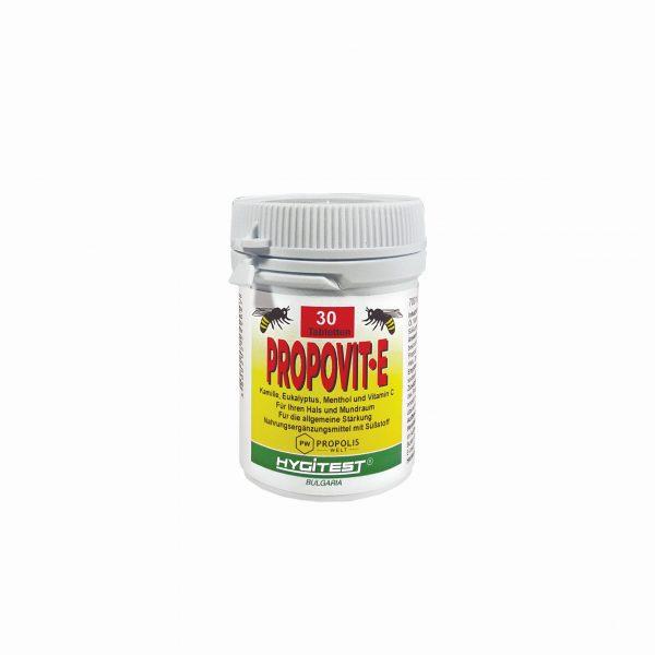 Propolis Tabletten mit Eukalyptus und Menthol