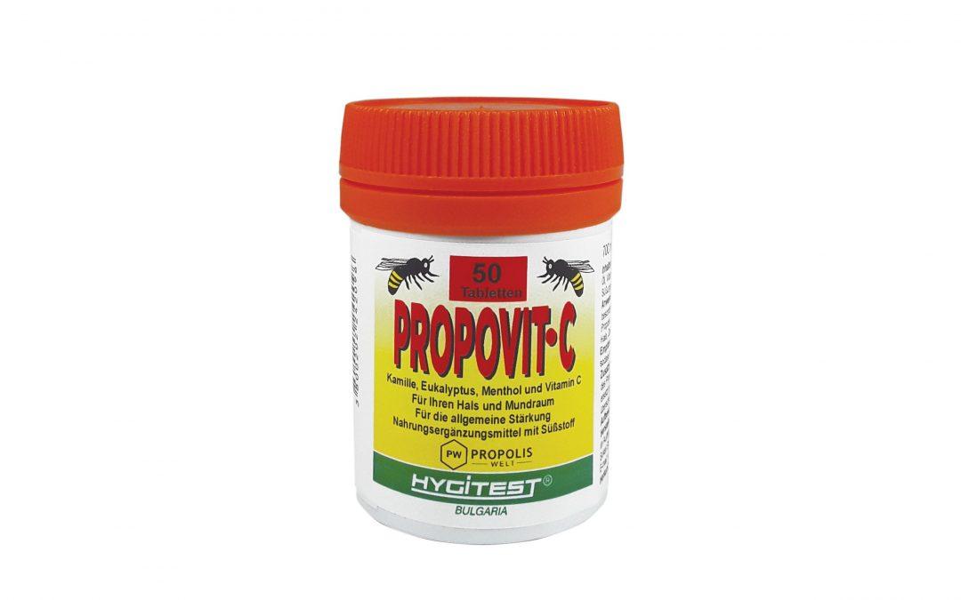 PROPOVIT C- Propolis Lozenges with Vitamin C 50st